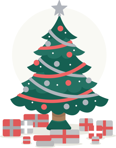 Santa Shaped Christmas Tree Farm Real Trees Location Caring Gallery